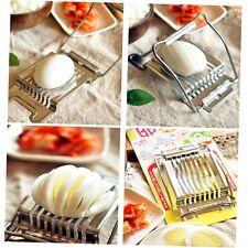 Stainless Steel Boiled Egg Slicer Cutter Fruit Vegetable Chopper Kitchen SU&
