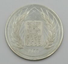 1973 India 20 Rupees Proof Silver Coin Grow More Food - Item# 2586