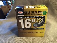 """Bell 16"""" Self-Sealing Standard Valve Bicycle Tube, fits widths 1.75""""-2.25"""" (62)"""