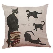 Cute Cat Sofa Bed Home Decoration Festival Pillow Case Cushion Cover 43cm*43cm K