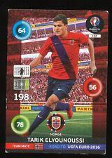 132 ELYOUNOUSSI NORWAY CARTE CARD ADRENALYN ROAD TO UEFA EURO 2016 PANINI D