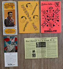 New ListingKarrell Fox - Set of 2 lecture notes + Promo Ads and Article