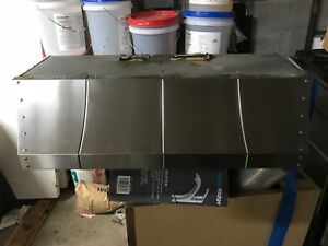 "30"" Stainless Steel Thermador Cabinet Range Hood With Blower."