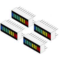 4 x 10 Segment LED Bargraph Light Display Red Yellow Green Blue