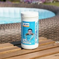 CLEARWATER 1kg PH Plus pH Increaser For Pools Hot Tubs Lay Z Spa