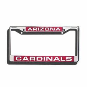 Arizona Cardinals NFL Chrome Metal License Plate Frame FREE US Shipping