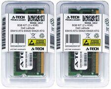 8GB 2x 4GB DDR3 Memory RAM for DELL LATITUDE E6410 ATG E6420 E6420 ATG E6420 XFR