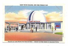 1939 New York World's Fair Pc Elgin Watch Building