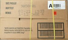 1 x CASE A US ARMY MRE rations meal ready to eat camping survival exp 2024 5