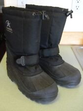 Kamik Canada Black Snowboot With Removable Liner Size 6