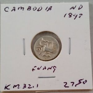 Cambodia 1847 1 Fuang