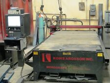 CNC Plasma Table with plasma cutter