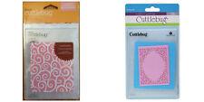 Cricut Cuttlebug Embossing Folders D'VINE SWIRL and SCROLLWORK New RARE