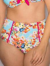Pour Moi? Seville Control Bikini Brief Pant 24005 Floral Print * New Swimwear