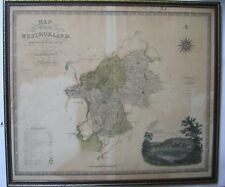 Westmorland: large scale antique map by Greenwood & Co, 1834