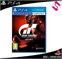 VIDEOJUEGO PARA PS4 PLAYSTATION 4 GRAN TURISMO GT SPORT FISICO JUEGO CASTELLANO