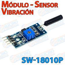 Modulo sensor vibracion SW-18010P contacto abierto detector alarma interruptor