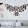 Wandtattoo Wandsticker Wandaufkleber Eule Owl Natur Vogel Aufkleber Wohnzimmer