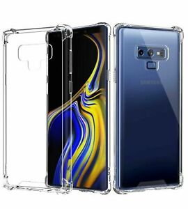 CLEAR Case For Samsung Galaxy S10 S10e S9 S8 Note 8 9  Silicone Gel Shockproof
