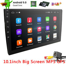 """Double Din 10.1"""" Android 9.1 Car Stereo no DVD GPS Navi Radio With Camera WiFi"""