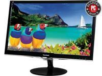 """ViewSonic VX2452MH 24"""" Full HD 1080P Gaming Monitor 1000:1 300 cd/m2 HDMI VGA"""