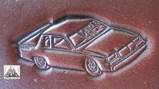 Stock Car Nascar Racing Embossing Plate Leather Stamp #1
