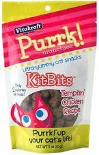Vitakraft Purrk Munchies Kitbits Cat Treat - Chicken Recipe Cat Snacks, 3.0 Ounc