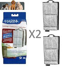 MARINA i25 Filtro di Ricambio Cartuccia Di Potenza 2 in confezione utilizzata in piccoli Vasca dei Pesci