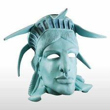 Statue Of Liberty Sea Foam Green 3/4 Head Latex Patriotic Mask