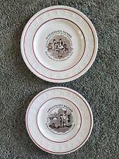 Antique Dr. Franklin's Maxim's Abc Collector's Plates