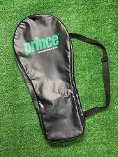 Prince Tennis Raquet Bag Carry Case Full Zip shoulder strap black See Thru 25�