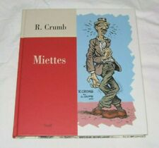 Robert Crumb Odds And Ends Miettes Hardcover Book R Crumb