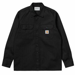 Carhartt L/S Master Shirt Black