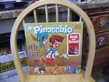 PINOCCHIO Book and Record LP 1971 Peter Pan Records
