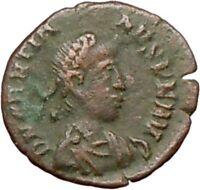Gratian 379AD Authentic Ancient Roman Coin Wreath  i27427
