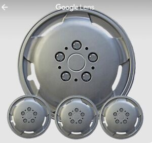 """New 16"""" Extra Deep Dish Wheel Cover/Hubcaps Fits-FIAT DUCATO (X4)"""