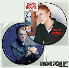 "DAVID BOWIE 7"" TVC15  RECORD STORE DAY 2016 PICTURE DISC 40th Anniv. SEALED"