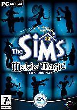 Maxis les sims Makin Magic nouveau scellé jeu pc cd-rom expansion pack