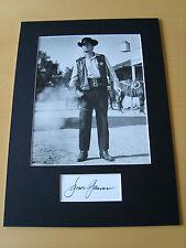 James Garner Genuine Autograph - UACC / AFTAL.