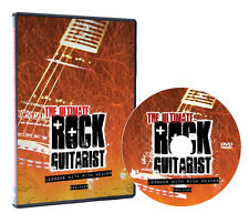 Lindo The Ultimate Rock Guitarist - DVD Lessons to Learn Beginner Electric Guita