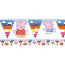 Peppa Pig 236156 Jointed Room Birthday Party Banner