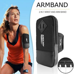 Running Sports Arm Band Phone Holder Bag Gym Armband Exercise For Mobile Phones