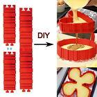 4Pcs Nonstick Silicone Bake Snakes Cake Mold Magic Diy Cake Mould Baking Tools A