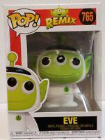 Eve Pixar Funko POP Disney- Pixar Alien Remix - Eve Classic funko Box#765