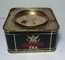 Vintage Hu-Kwa Tea 1 Pound Size Tin Hard To Find