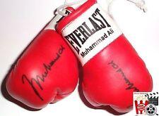Signierte Boxhandschuhe *Muhammad Ali* *Ali* Movie-Prop rot