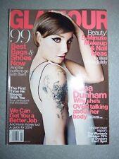 Magazine revue GLAMOUR US april 2014 Lena Dunham