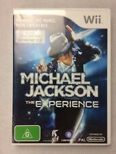 Nintendo Wii Game : MICHAEL JACKSON THE EXPERIENCE + BOOKLET MANUAL