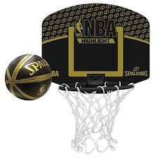 SPALDING MICRO MINI NBA HIGHLIGHT 77-587Z Mini goal and mini ball set