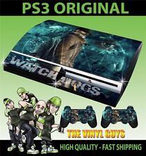 PLAYSTATION PS3 VIEUX FORME AUTOCOLLANT Montre DOGS DEDSEC 001 Aiden Skin & 2